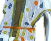 Silk Tunic Wrap  FELT 4U www.felt4uart.blogspot.com