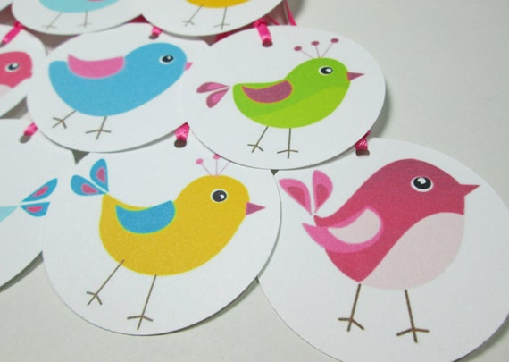 CLEARANCE - Birdie Gift Tags