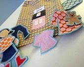 Little Villager Wool Felt Paper Doll (Jane)