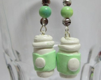 Java Cup Earrings
