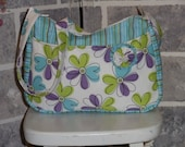 A New  Pretty Flowered Shoulder Bag