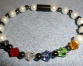 Christian Swarovski and Magnetic Bracelet