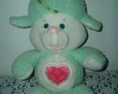 1984 Care Bears Cousin Heart Lamb Plush