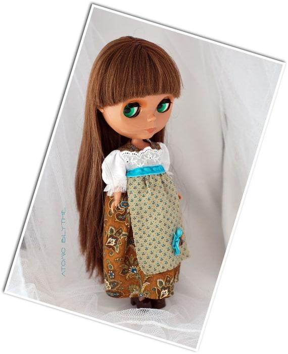 Atomic Blythe Vintage Style Bavarian Dress