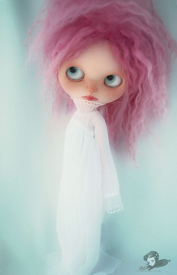 Atomic Blythe Wraith Dress in Pure White PREORDER