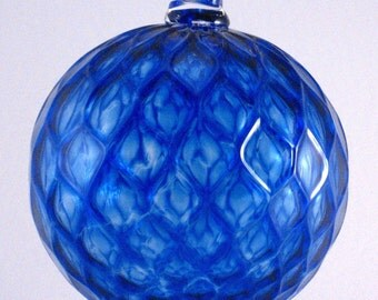 Handblown Glass Ornament  by Tazza Glass