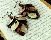 Colorful Feather Earrings with Hypoallergenic Ear Wires