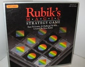 Vintage Rubik's Magic Strategy Game 1987 Matchbox Complete