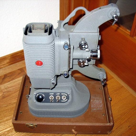 Dejur Model 1000 8mm Movie Projector Vintage in Case