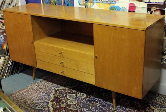 Vintage  Paul McCobb Credenza Planner Mid Century Modern Buffet Furniture