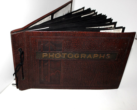 1930s Vintage Photos Photographs Album Antique WA State Yakima Wenatchee Fairs