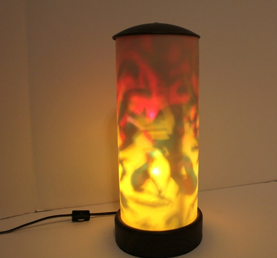 Vintage Psychedelic Light Blinking Color Changing By