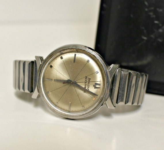 Vintage Bulova Accutron Mens Watch 1960s 60s