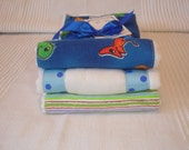 Little Dinosaur Burp Cloth Set