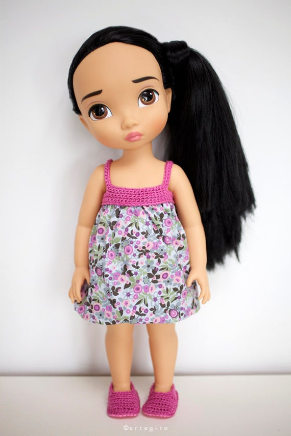 Disney Animators Collection doll Dress and Shoes