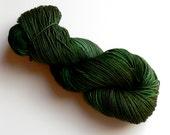 Sock Yarn Merino Wool Hand dyed Brunswick Green SW
