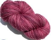 Sock Yarn Hand dyed 440 yards Merino Wool Silk Coleus