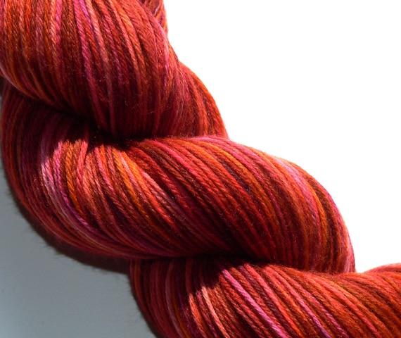 Sock Yarn Merino Wool Nylon Hand dyed Taryn
