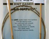 "Addi Natura Circular Needle U.S.5/3.75 mm, 40"" long - Buy 4 get 1 free"