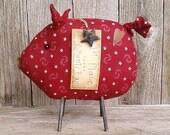 Oscar the County Fair Pig