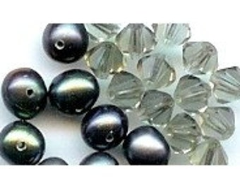 ADD ON Dangle for Extenders for Necklaces  - Choose Pearl, Crystal, or Ball