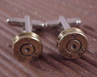 Bullet Cufflinks / Winchester Repeating Arms WRA 60 Rifle Cuff Links / Wedding Cufflinks / Groomsmen Gift / Sportsman Gift / Gifts For Dad