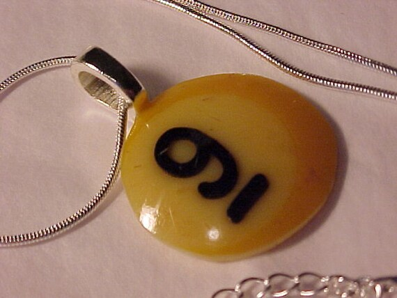 Pool Ball Pendant Necklace - Free Shipping to USA