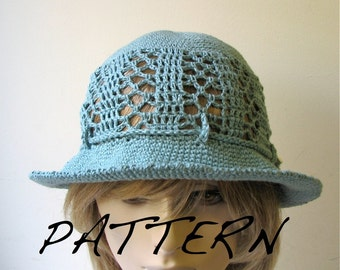 Crochet Sun Hat - Easy-To-Crochet Pattern in PDF