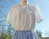Girl's Pirate Blouse Peasant Blouse Gypsy Blouse