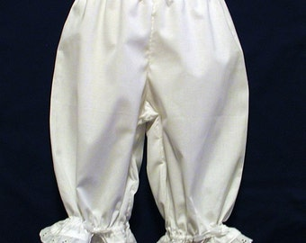 White  Lacy Ruffled Bloomers Girls Size 18 Months