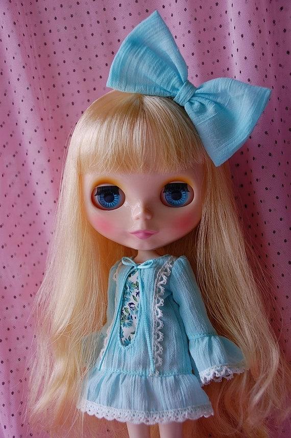 Blythe aqua dress set