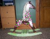 Rocking Giraffe/rocking horse