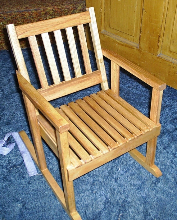 Child size hickory rocker/rocking chair by RMDCreations on Etsy