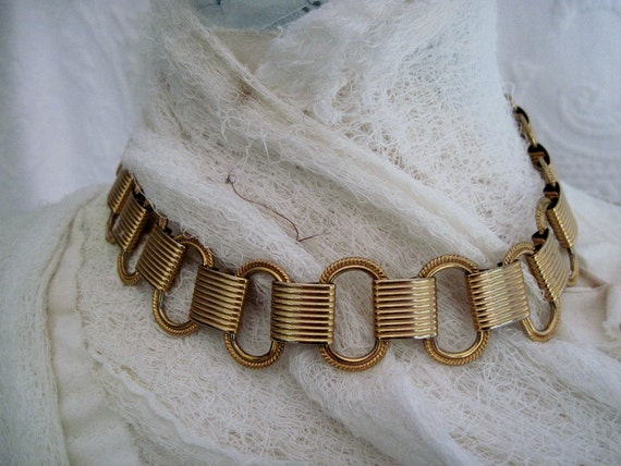 RESERVED Chain Belt Style Choker