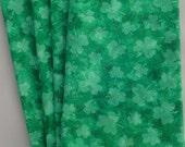 St. Patrick's Day Shamrock Table Napkins Set of 4