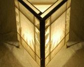 White Star Light Sculpture Lantern