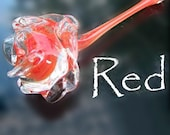 Glass Rose (red)