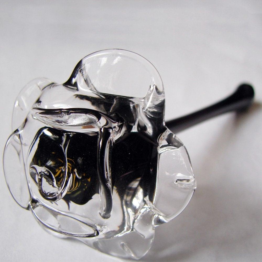 glass rose black. Black Bedroom Furniture Sets. Home Design Ideas
