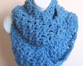 Tranquil Waters Circle Scarf/Cowl