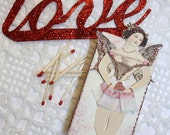 fairy lights - paper doll matchbox series