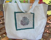 Pine Cone Canvas Tote Bag