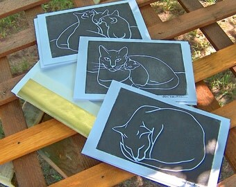 Cat Card Set