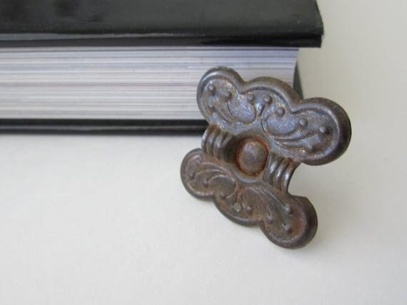 Metal Hardware Butterfly Shaped Vintage