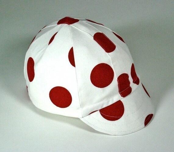 Polka Dots Cycling Cap