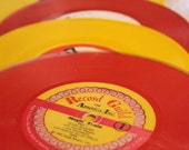 Vintage Colorful Childrens Records