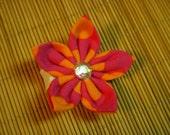 Mini Fabric Hair Flower