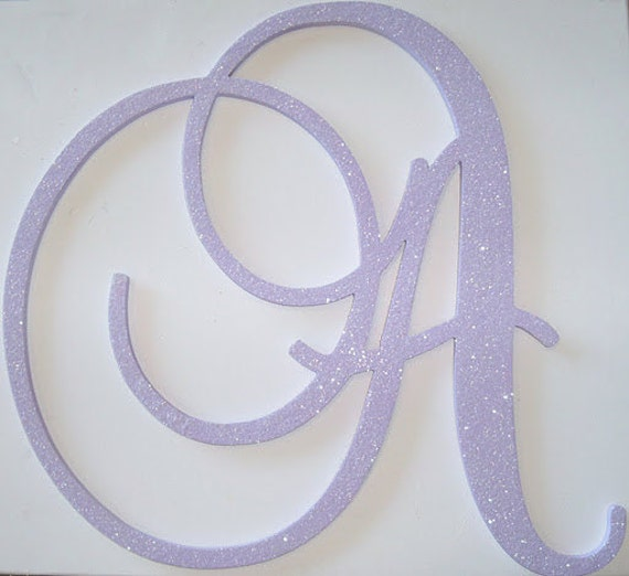 "... "" Large Wooden Wall Letters - Monogram Letters- Wedding Decor Letters"