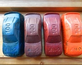 Recycled Race Car Crayons