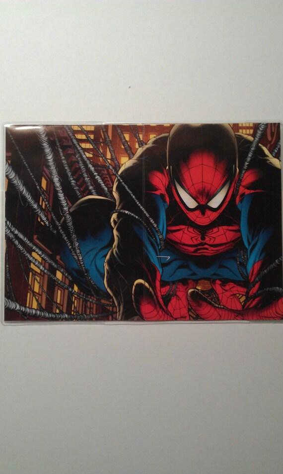 PASSPORT COVER SpiderMan Marvel Comics