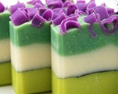 Fresh Cut Grass Soap Handmade Cold Process, Vegan Friendly